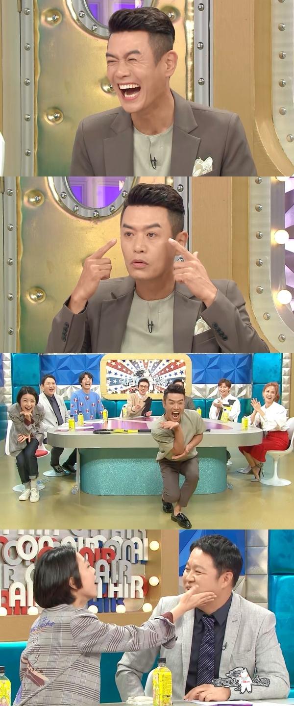 '라디오스타' 김대희, 순수하던 안영미 변했다 폭로! 그녀의 인사에 공포감 느껴? 눈썹으로 시선 강탈 甲!